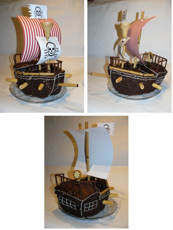 bateau pirate tags gateau anniversaire enfant rigolo de pirates pictures. Black Bedroom Furniture Sets. Home Design Ideas