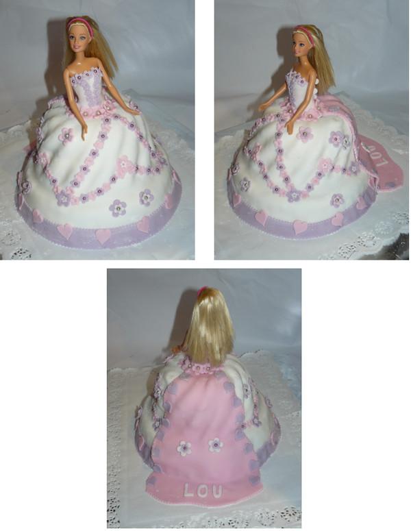 Gateaux anniversaire fille princesse - Gateau anniversaire princesse facile ...