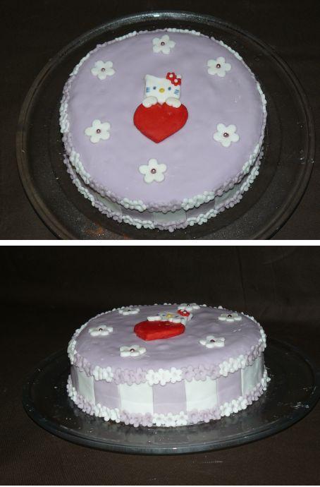 gateau anniversaire enfant pate a sucre